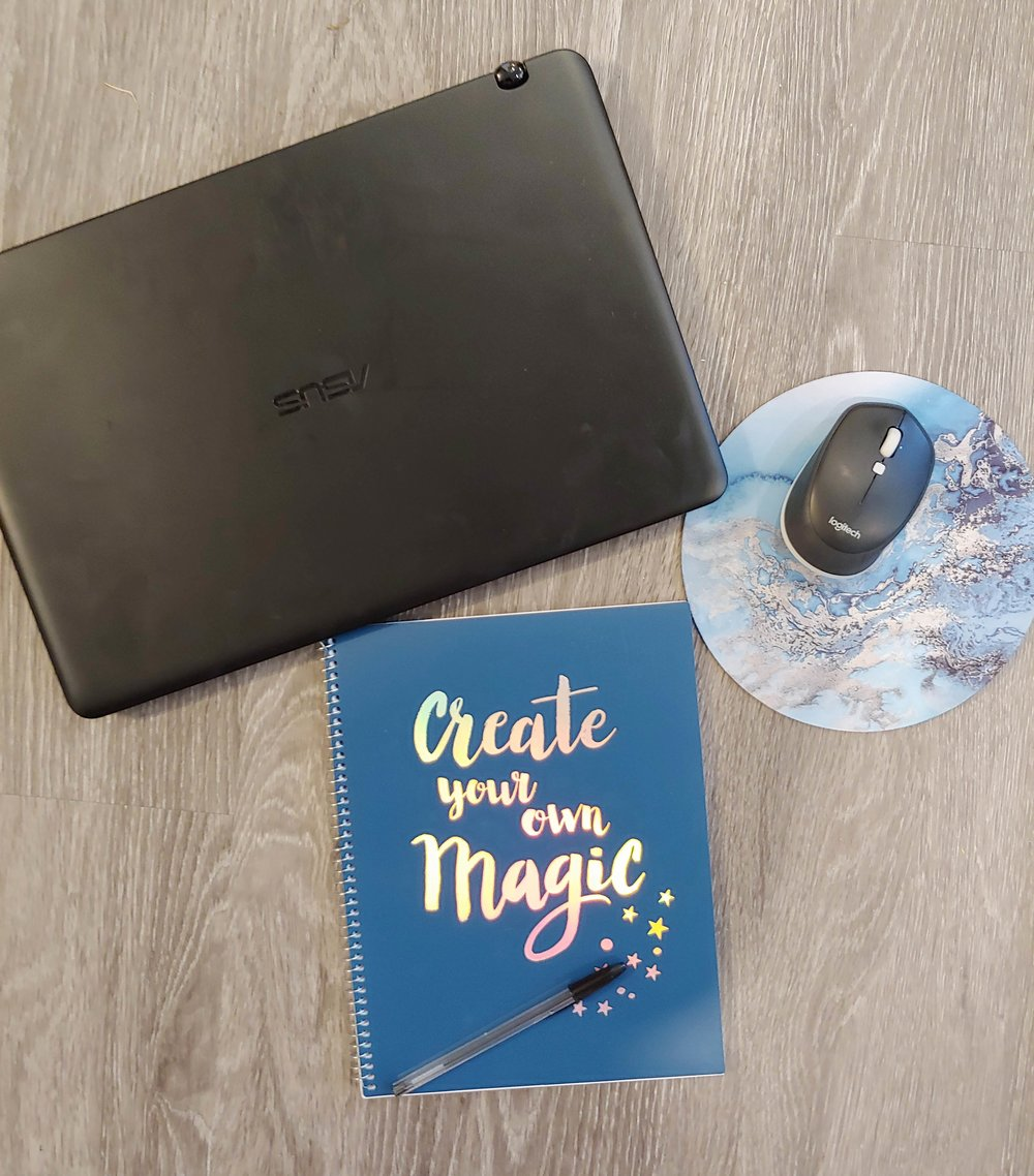I am looking forward to creating some magic this semester. This computer is going to be a lifesaver.