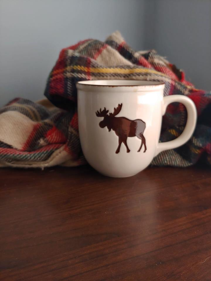 I love a nice cup of fall flavored coffee ( lately its been maple) and a cozy scarf.