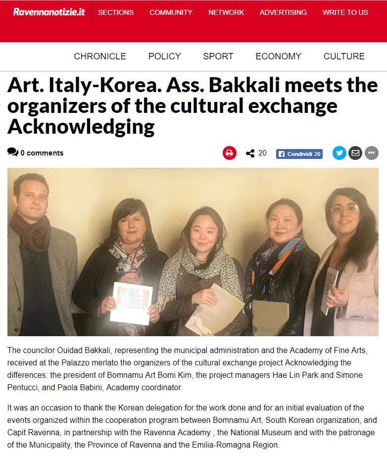 http://www.ravennanotizie.it/articoli/2018/11/08/arte.-italy-korea.-ass.-bakkali-incontra-gli-organizzatori-dello-scambio-culturale-acknowledging.html