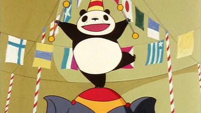 熊貓家族:雨中馬戲團