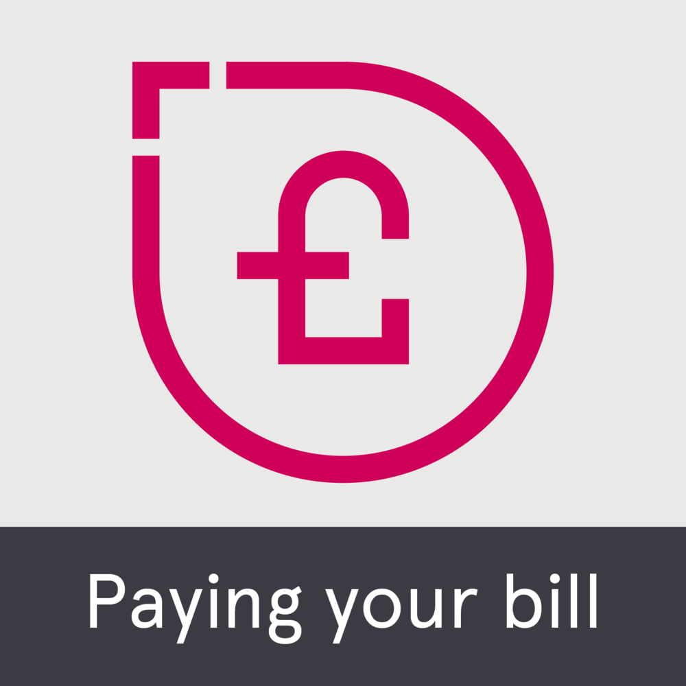 Paying your bill