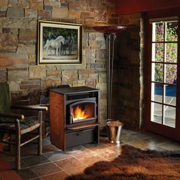 Ferguson's Fireplace & Stove Center carries the Lopi AGP Pellet Stove.