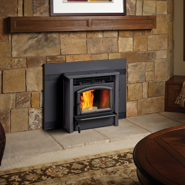 Ferguson's Fireplace & Stove Center carries the Lopi AGP Pellet Insert.