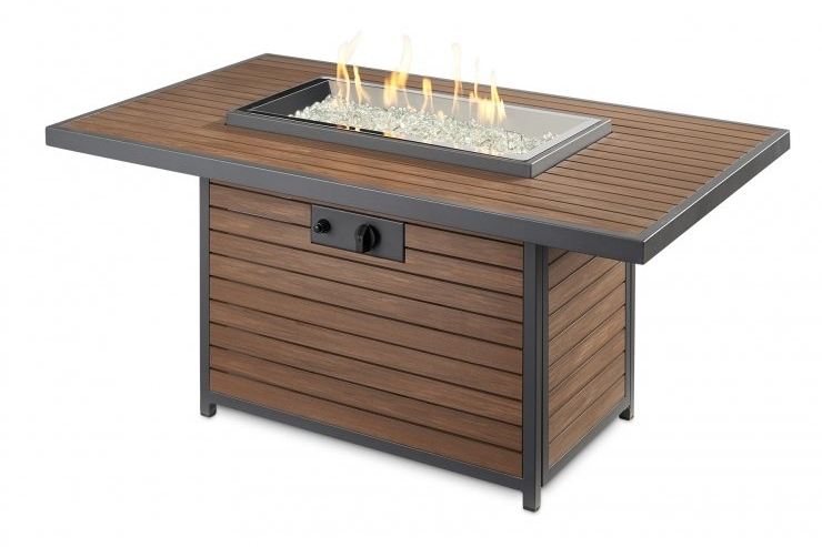 Outdoor GreatRoom Co. | Kenwood Chat Fire Table -