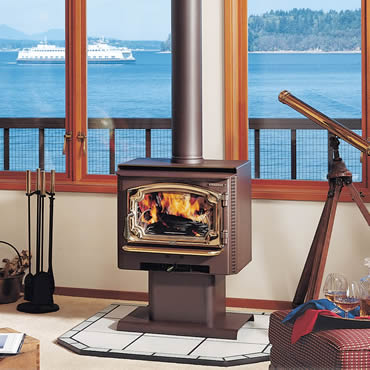Lopi fireplace, insert, and stove products available in Northern Michigan.