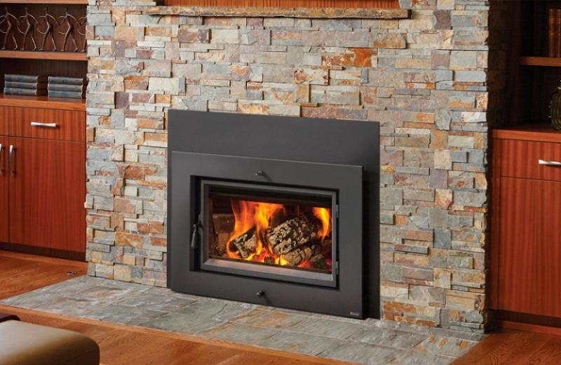 The Fireplace Xtrordinair Large Flush Wood Hybrid-Fyre™ Insert Rectangular wood insert is available at Ferguson's Fireplace & Stove Center.