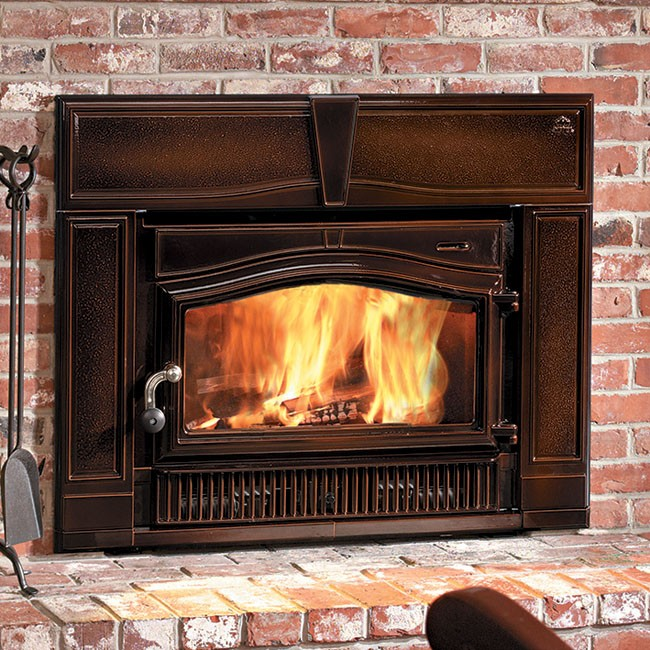 The Jotul C 550 Rockland CB wood insert is available at Ferguson's Fireplace & Stove Center.