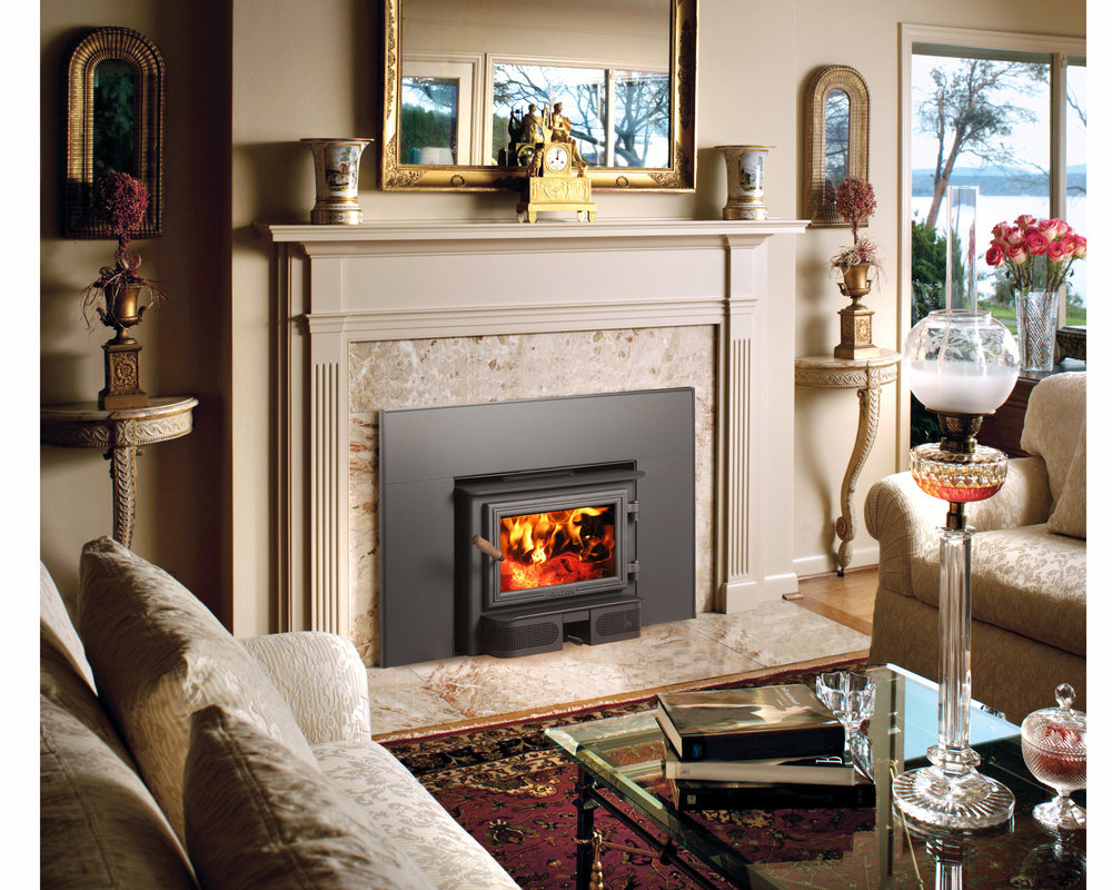 The Avalon Spokane 1250i is available at Ferguson's Fireplace & Stove Center.