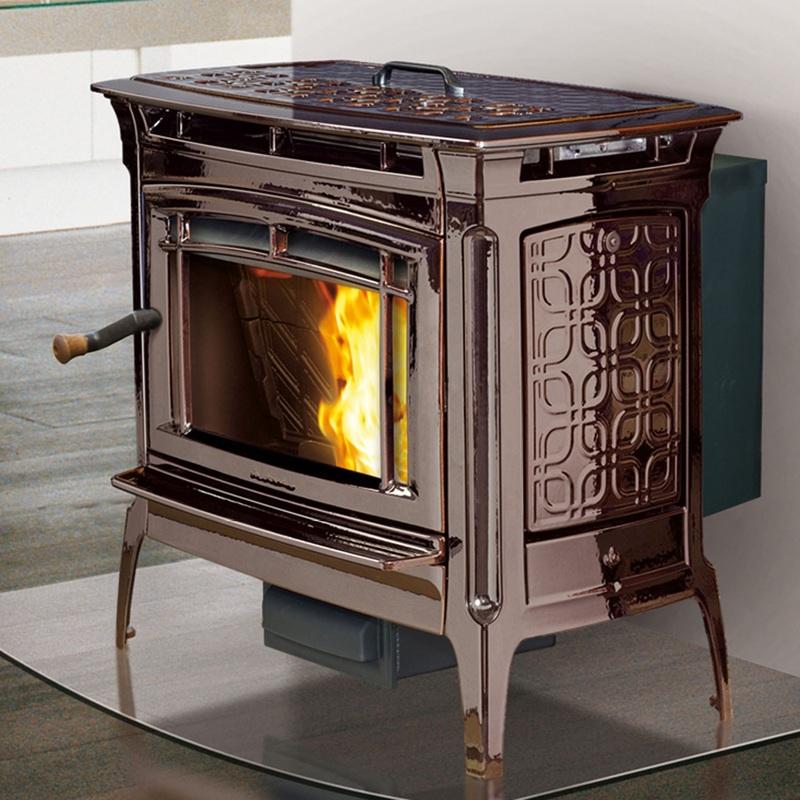 Pellet Burning Pieces -