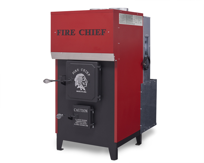 Ferguson's Fireplace & Stove Center in Michigan carries the Fire Chief EPA Certified FC1500 Wood Burning Indoor Furnace.