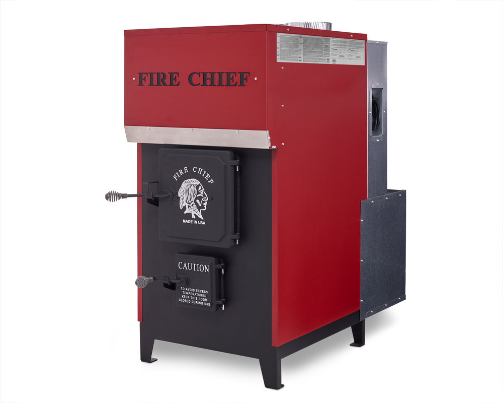Ferguson's Fireplace & Stove Center in Michigan carries the Fire Chief EPA Certified FC1700 Wood Burning Indoor Furnace.