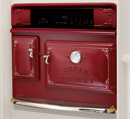 Antique Wall Oven in Cayene Pepper