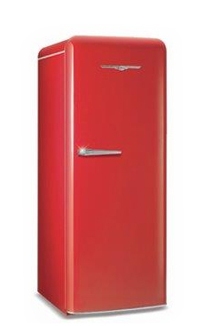 Model 1949 11.0 Cu. Ft. Single-Door All-Fridge Shown in Candy Red