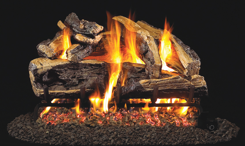 Charred Rugged Split Oak - PRODUCT SIZES: 18