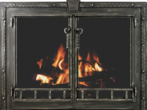 Stoll Industries | Blacksmith - Displays extreme metal work from our finest craftsmen.DESIGN: RUSTIC BANDING AND RIVETSFRAME SIZE: 7GAOPTIONS: Laser cut and Custom Sizing