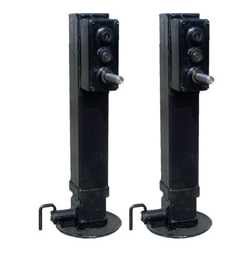 HEAVY DUTY SQUARE JACKS AND LANDING PASDS - G.E.P.'S 12000, 20000, 50000 SERIES HEAVY DUTY SQUARE JACKS AND LANDING PADS.