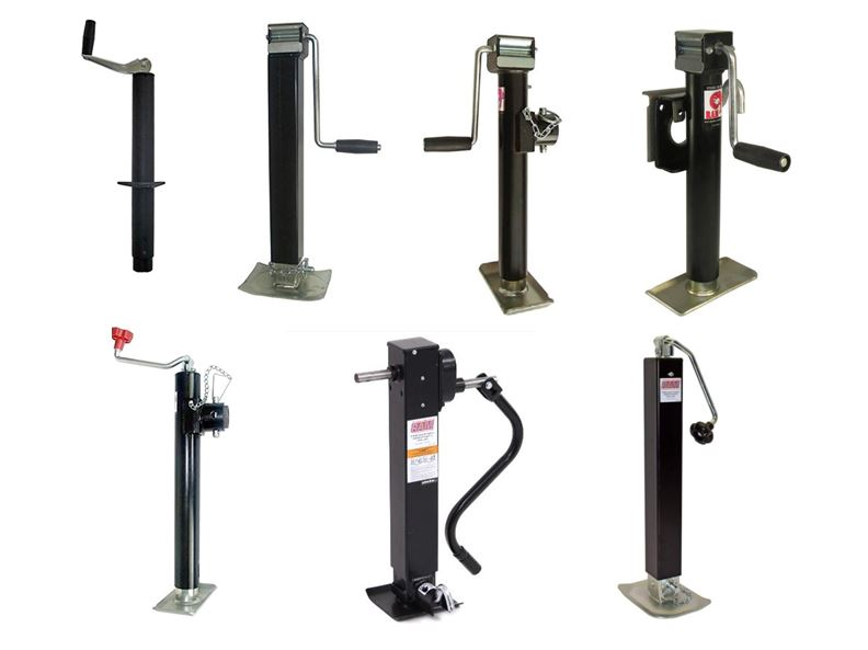 HITCH JACKS - WE OFFER MANY DIFFERENT STYLES OF RAM HITCH JACK PRODUCTS AND PARTS.