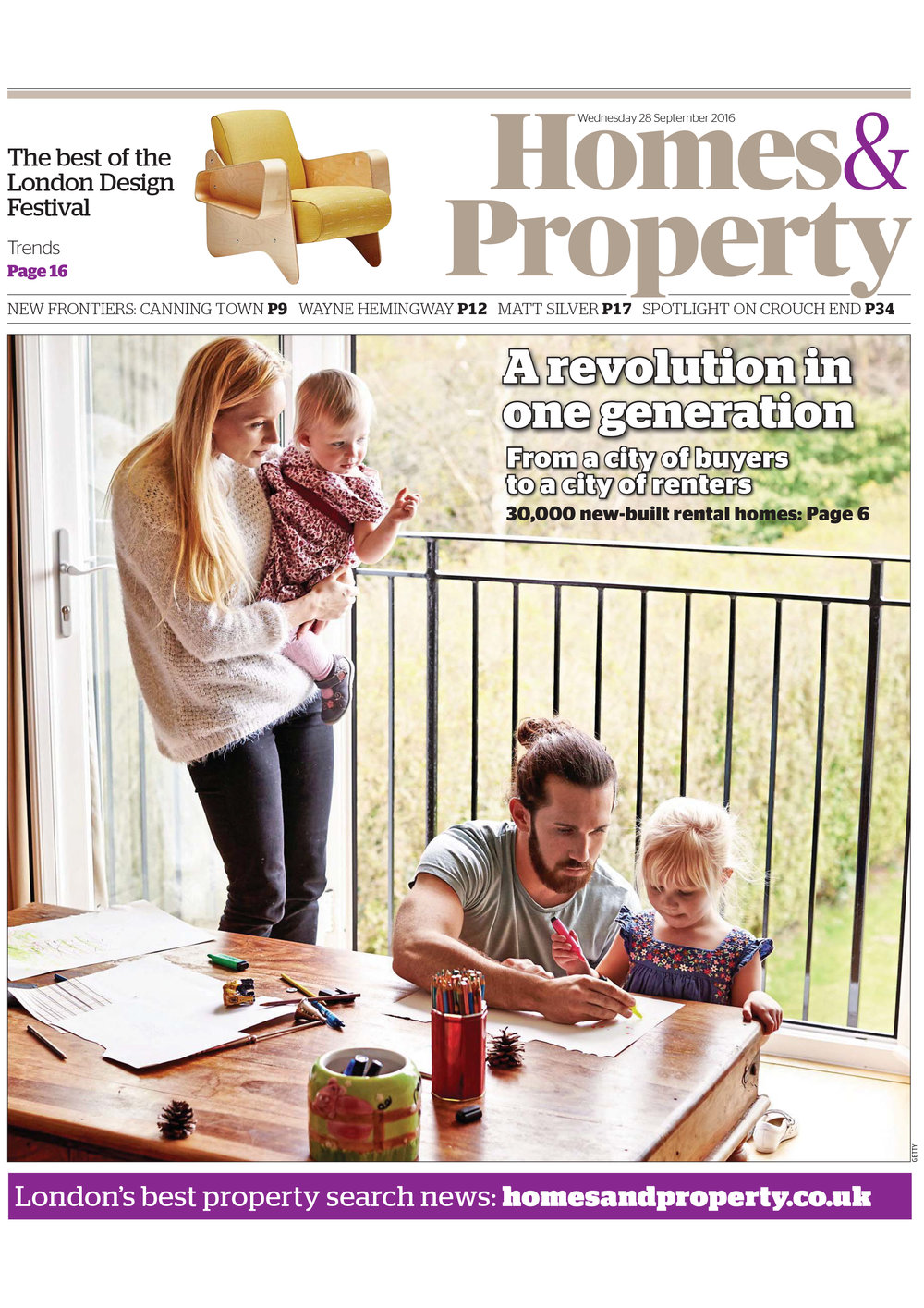 Homes & Property, 2016