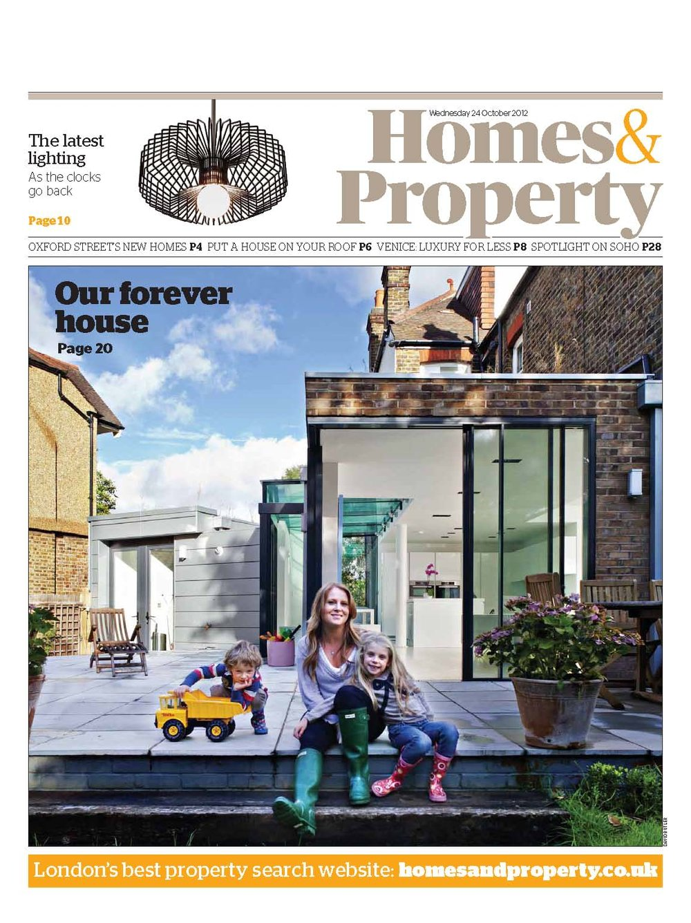 Homes & Property, 2012