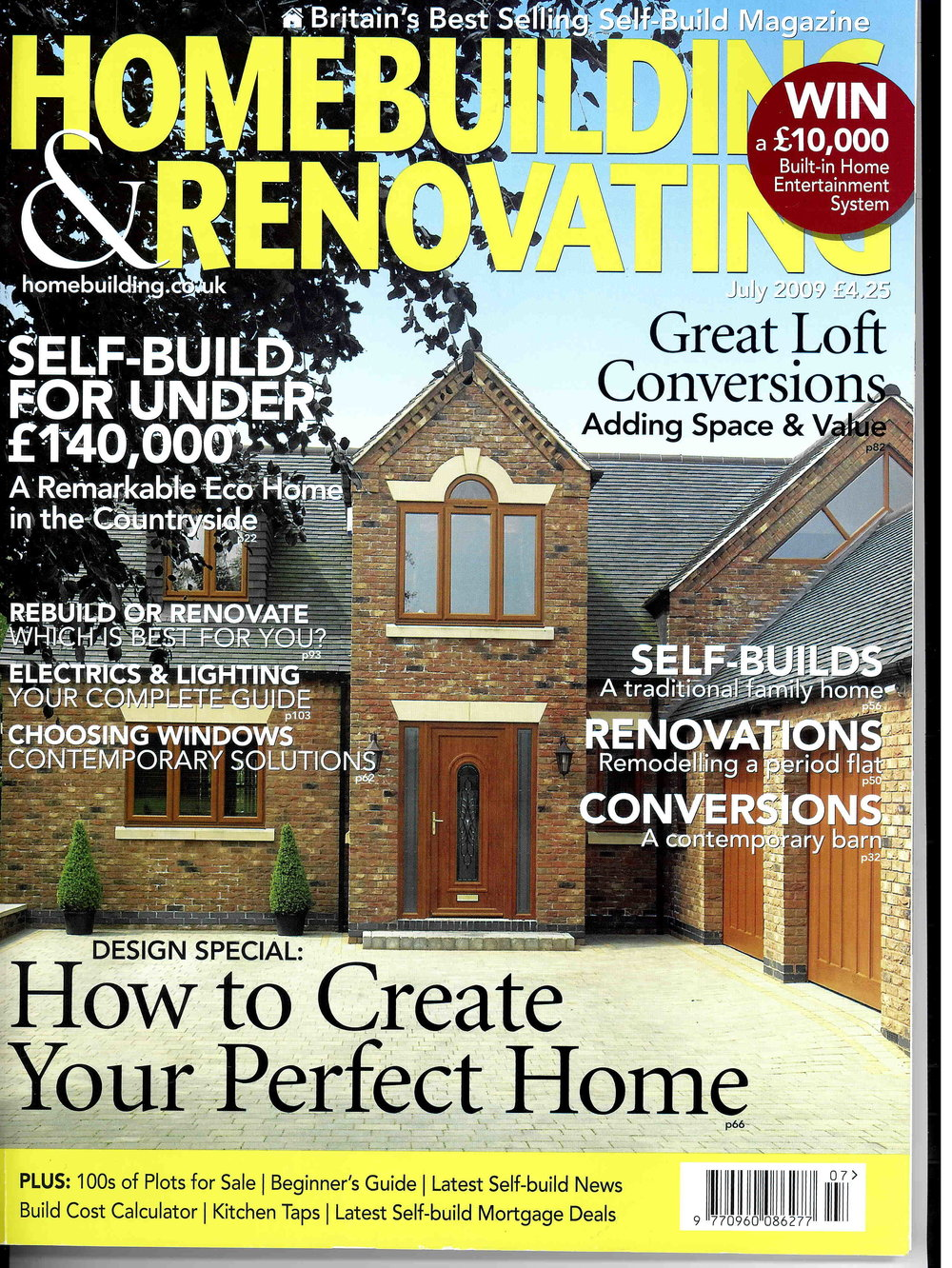 Homebuilding & Renovating, 2009