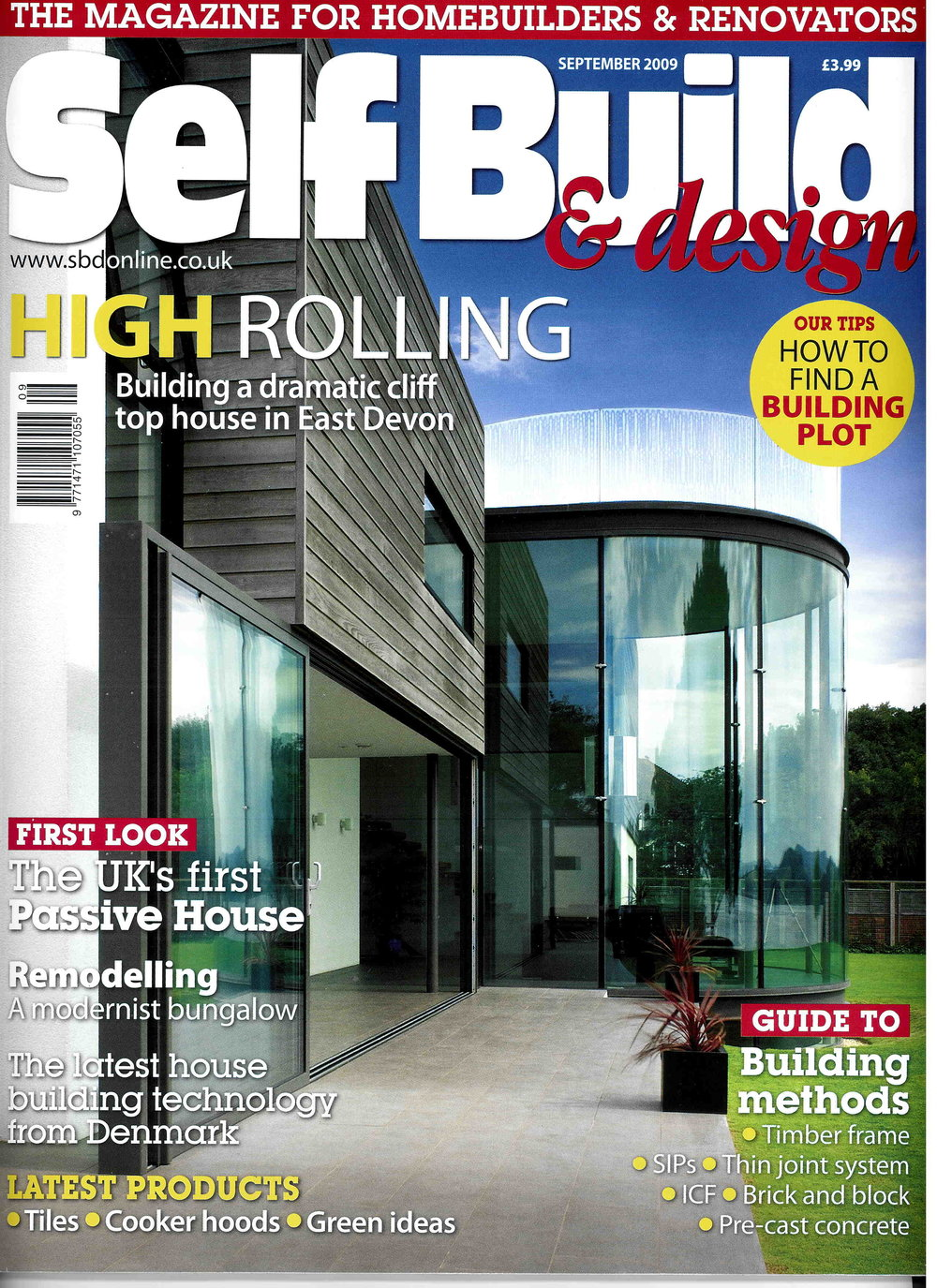 Self Build & Design, 2009