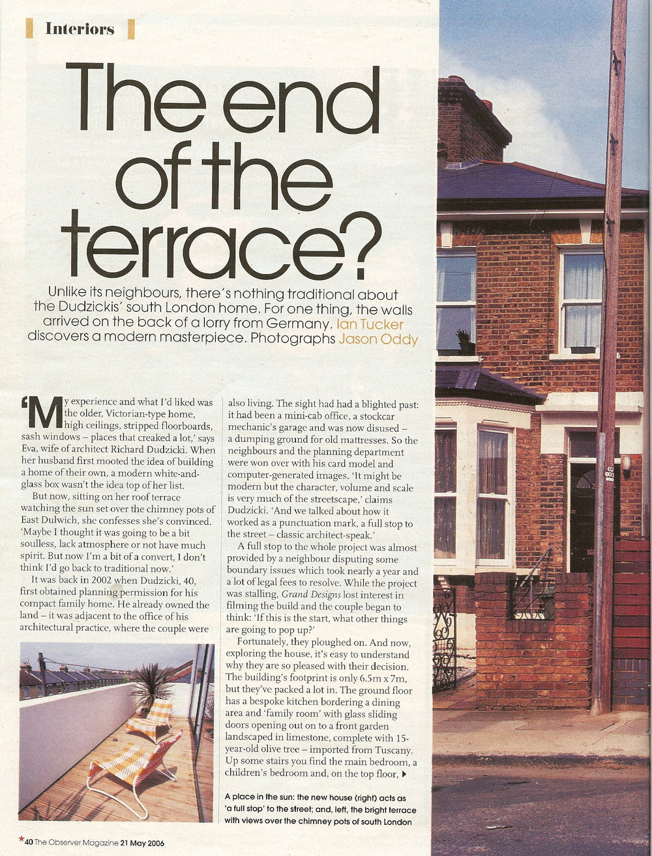 The Observer Magazine, 2006