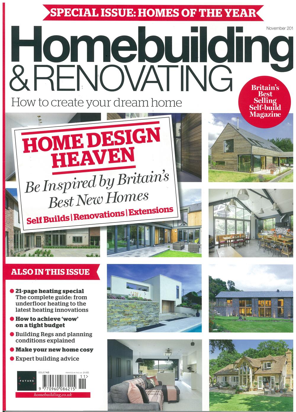 Homebuilding & Renovating, 2018