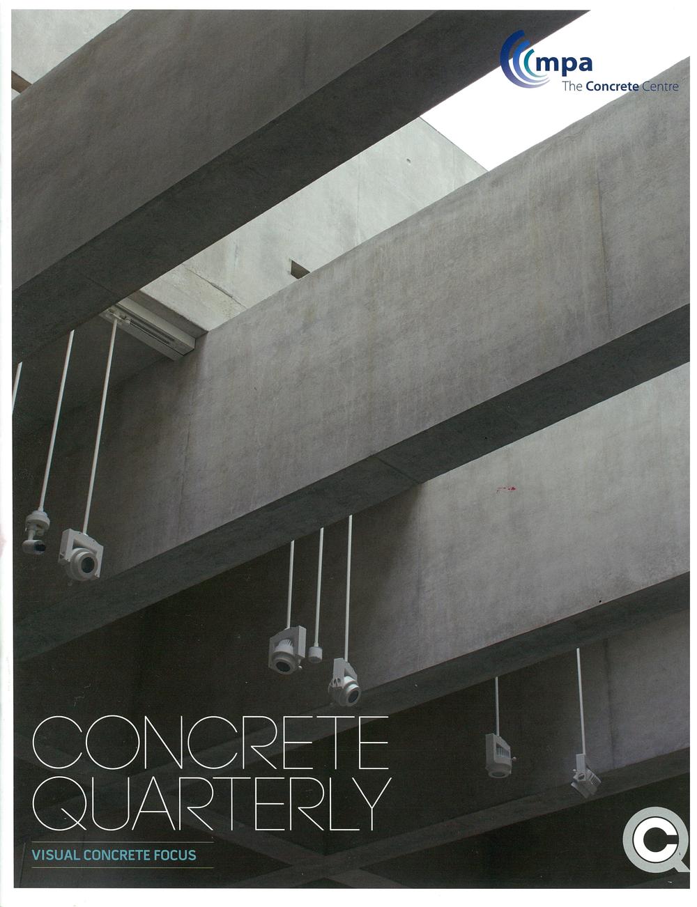 Concrete Quarterly, 2019