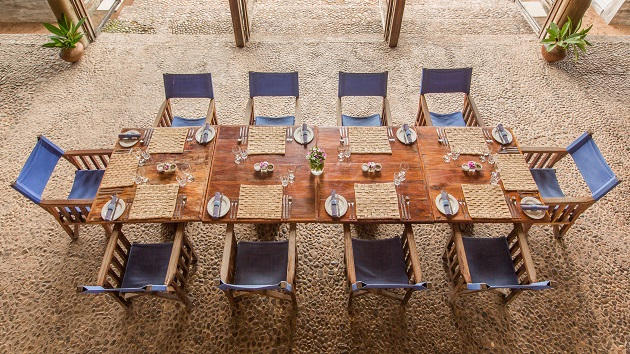 Lake Shore Lodge Tz - Lake Tanganyika - Restaurant inside.jpg