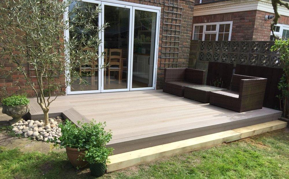 Composite Decking Garden Patio