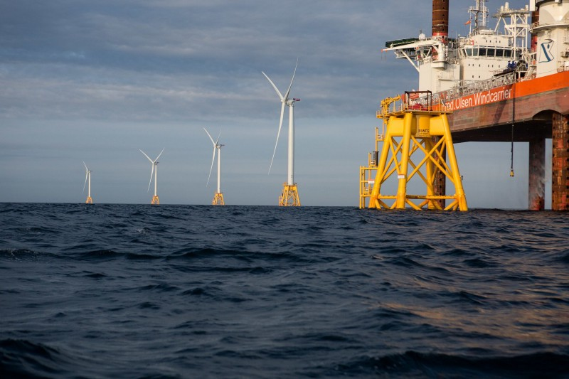 America's first offshore wind turbines