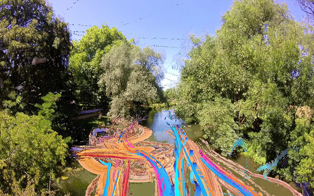 Alex May  River Cherwell, Oxford