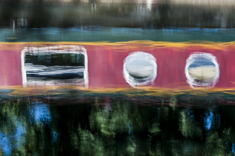 Stephen Horsted  Boat Reflection 32