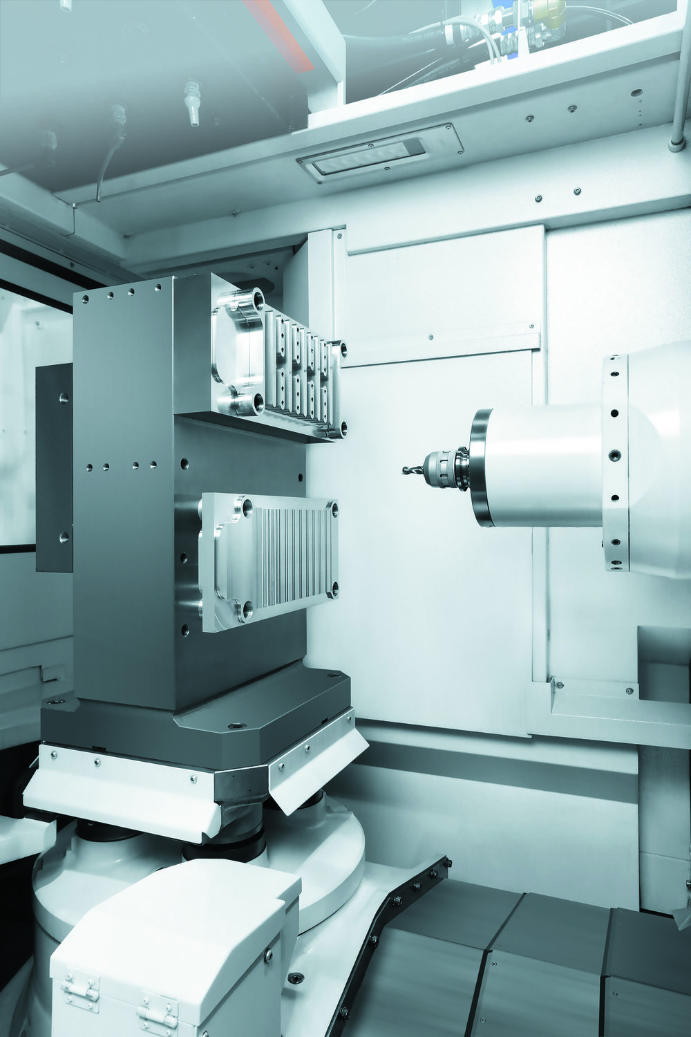 Horizontal machining centers -