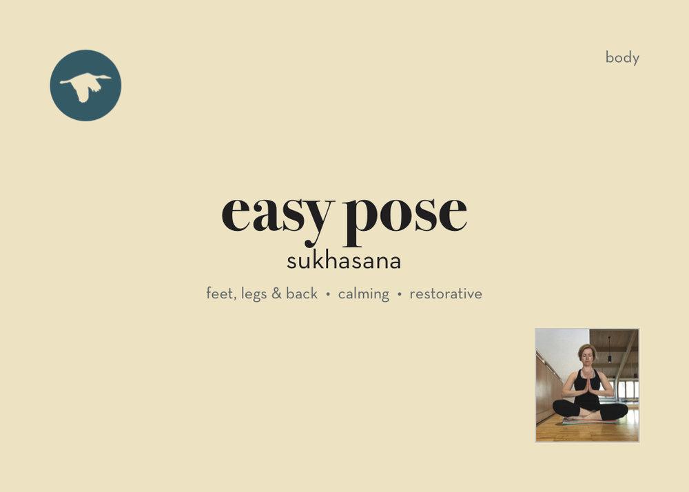 Easy Pose