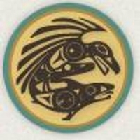 Our logo represents knowledge (Raven) carrying survival/sustenance (Salmon)