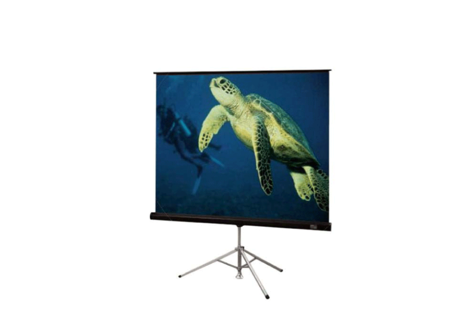 96″ x 96″ Tripod Projection Screen