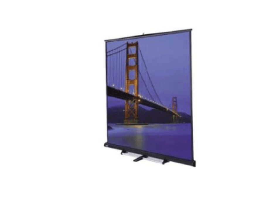 10′ x 10′ Floor Model C Projection Screen