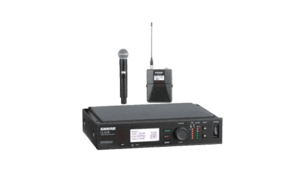 Shure ULXD4 Digital Wireless Mic System