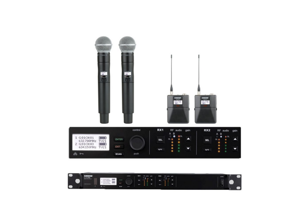 Shure ULXD4D Digital Wireless Mic System