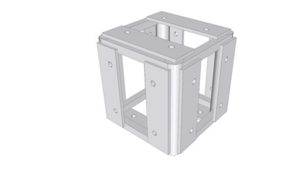 "Tomcat Truss 5-Way Corner Block 12"" X 12"""