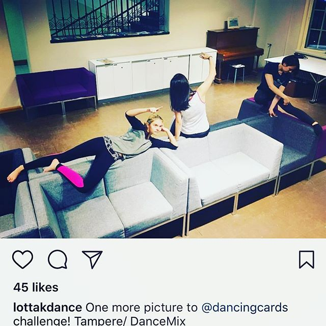 Send dance photos towards the co-creative dance until October 31st. Here is more movement from Tampere at a dance class of @lottakdance 😍. #dance #tanssi #Tampere #Finland #dancers #creativedance