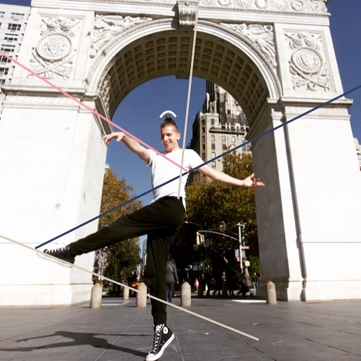 Have some fun exploring with your dance photos. Draw shapes and lines to observe the relationship of the body to the surrounding space.  #space #bodyawareness #dancetask #dancingcards #WashingtonSquarePark #NYC #dancer #creativedance #onlinedanceclass #dancecompany #movementart #dancephotography #shapes #spatialawareness screenshot of the photo by @littleleihgeber dancer @jasminvrban