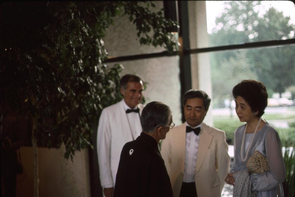 10th Anniversary of Japanese Bicentennial Gift