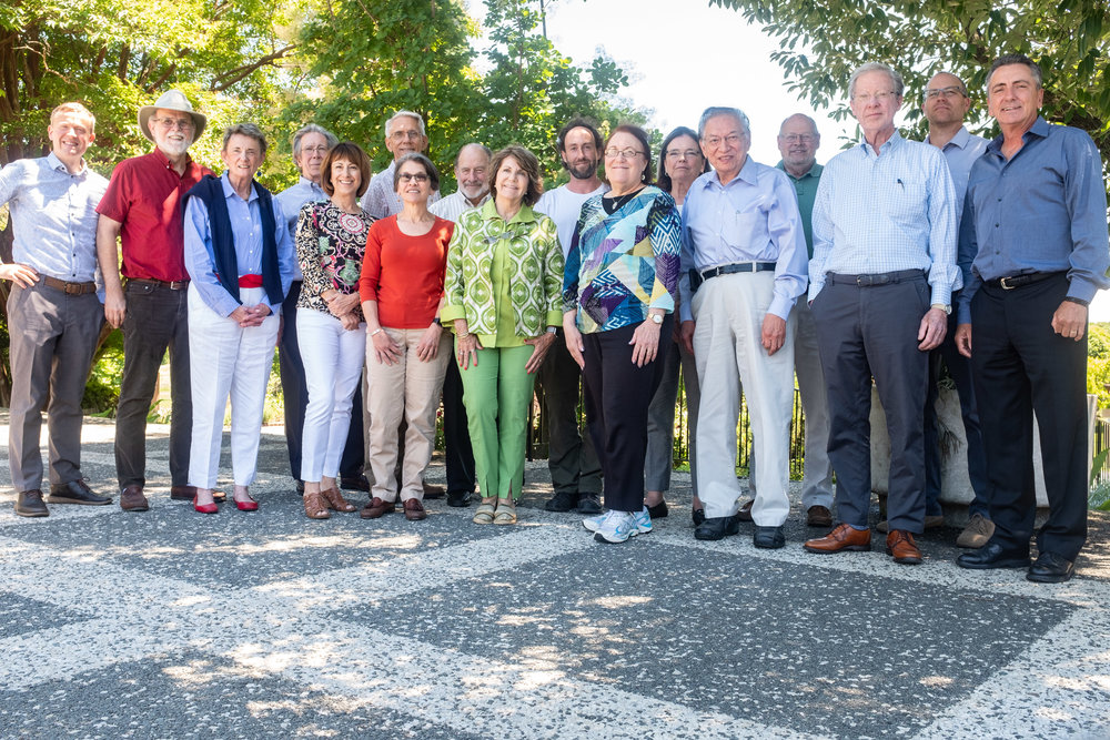 The National Bonsai Foundation's Board of Directors (Spring 2018 - Stephen Voss Photography)