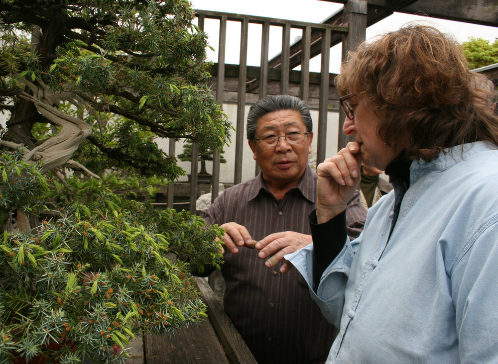 Mr. Yasuo Mitsuya and Kathy Shaner
