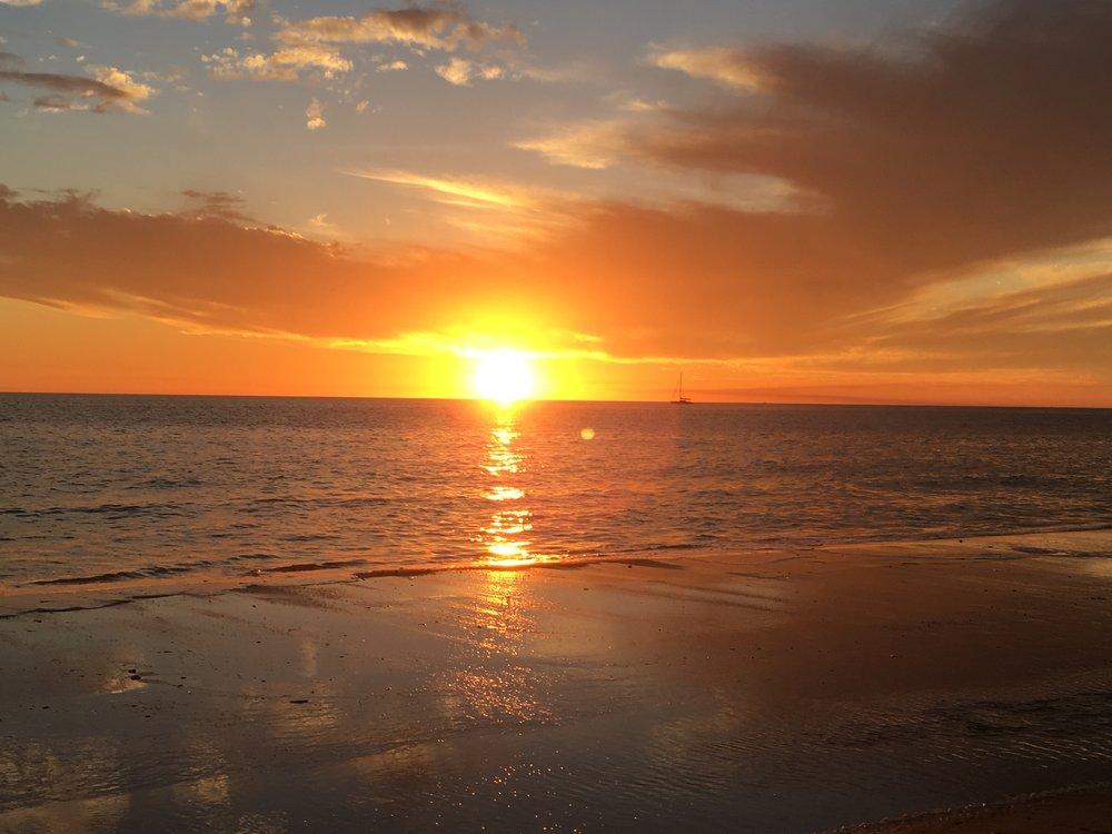 Glenelg Beach, South Australia.