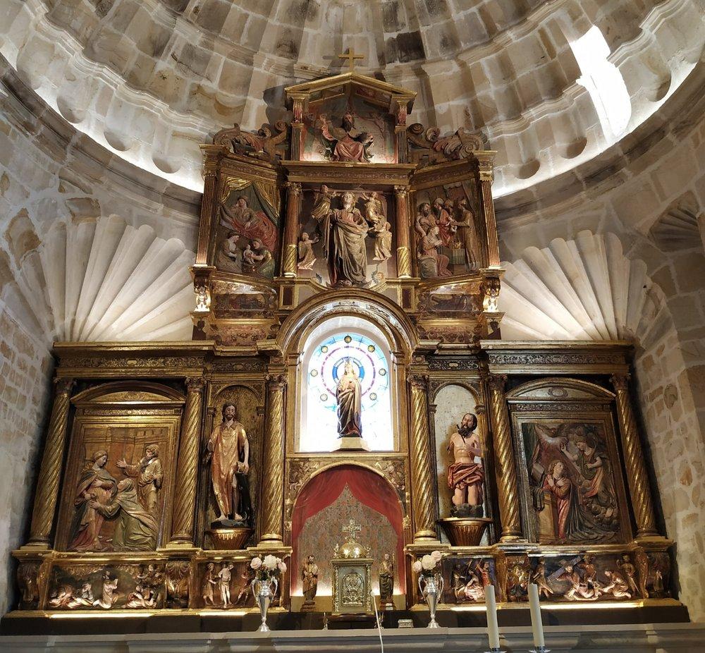 retablo mayor Santa Maria de toraya