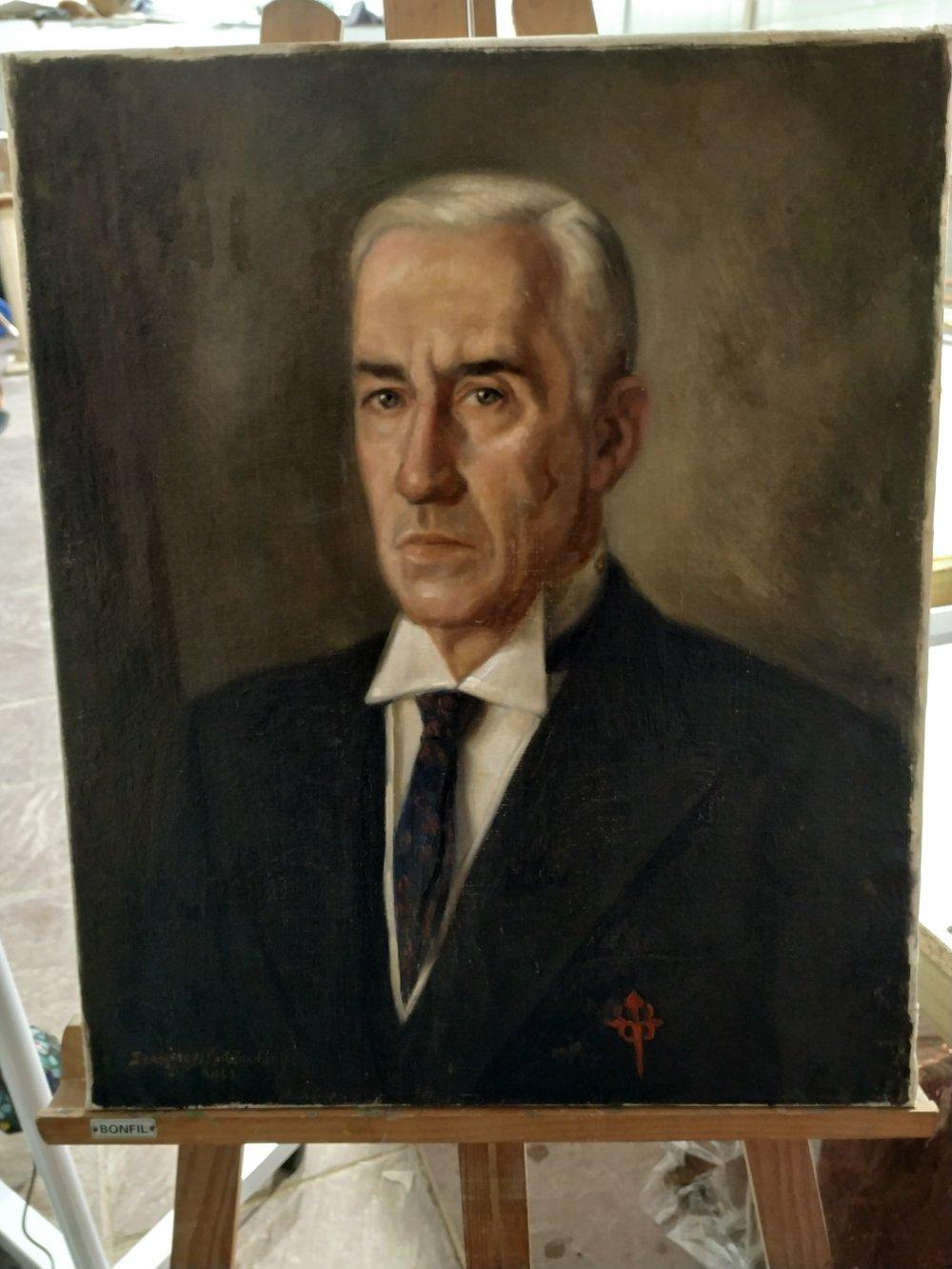 Isidro Mateo González   Presidente 1934