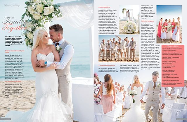 Love is not about how many days, weeks or months you've been together. It's all about how much you loved each other every day. 💖  Mark & Cassy, we're so happy for you! May your lives be enriched by each other 💑 💫Would you like your wedding featured in Confeti Magazine? Contact us! 💫Enquiries@iconpublishing.es . . . . . #weddinginspo #bridal #confetimagazine #marbella #weddingsspain #mr #mrs #bridal #bridetobe #bridalinspiration #wedding #planyourwedding #weddingsday #destinationwedding #morningbride #weddingstyle #flowers